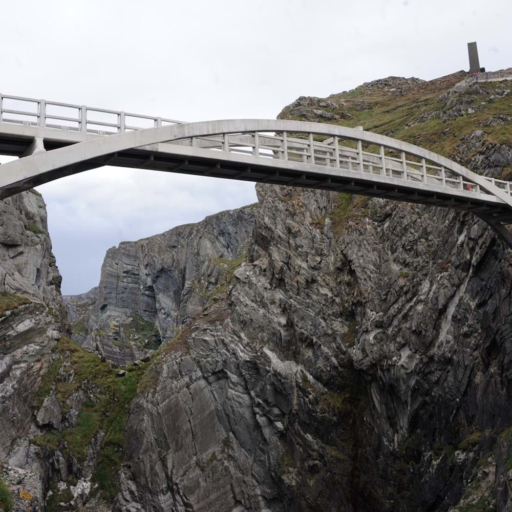 Mizen Head Foot Bridge. West, Cork, Ireland.