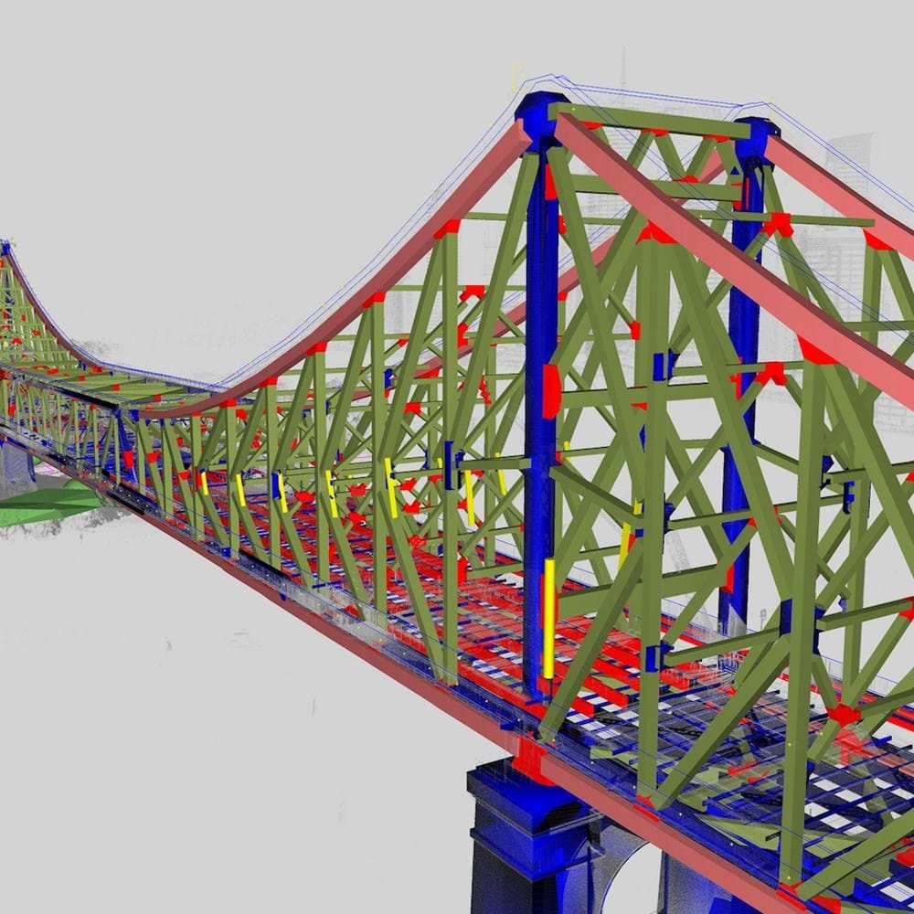 3D model of Brisbane's Story Bridge