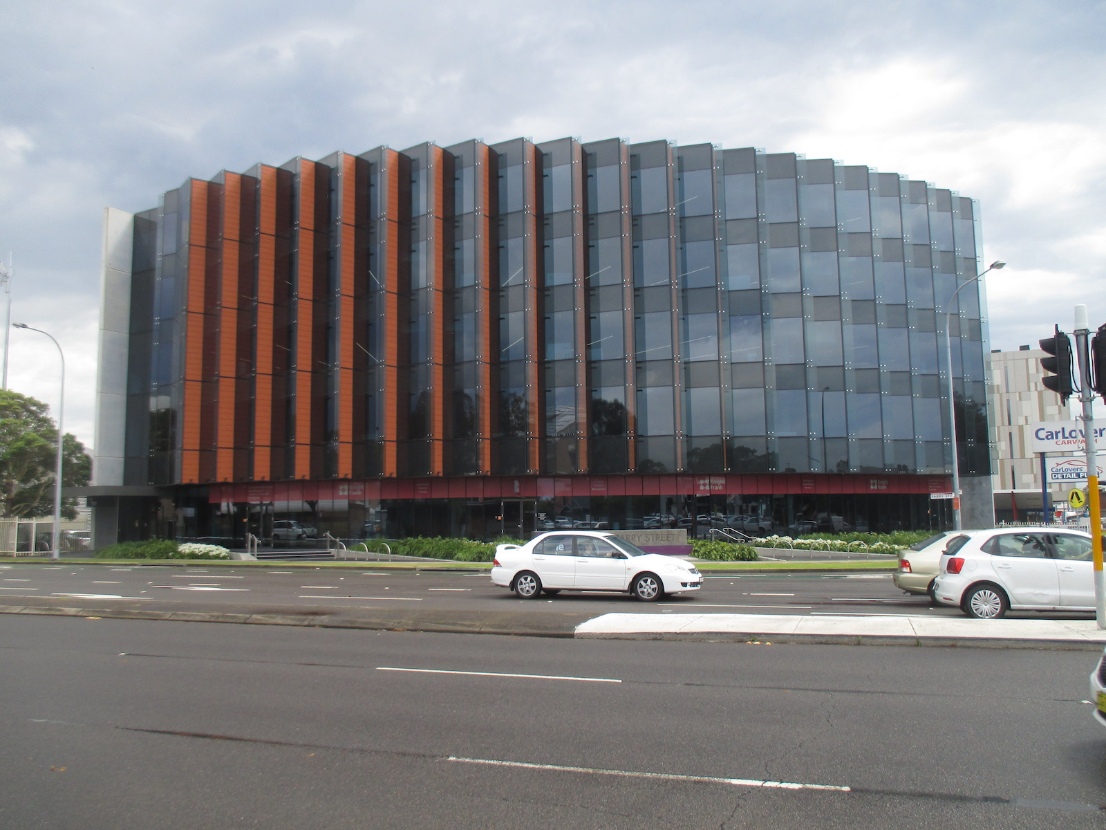 Street view of the The Gateway building, Newcastle NSW