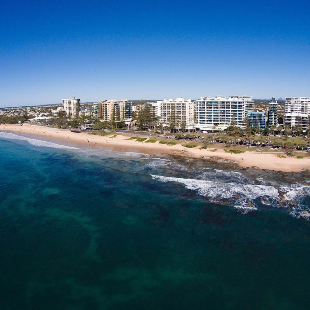 Mooloolabah beach and coastal accommodation in Queensland Australia