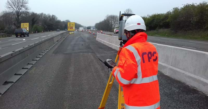 Chris surveying M6.jpg