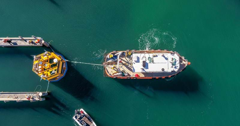 RPS Energy | Floating LiDAR sea trial