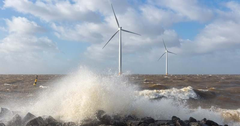 REMS on at an offshore wind farm site
