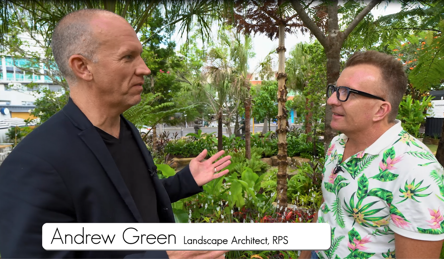Andrew Green discusses our work on West Village Common on television program Australia By Design.