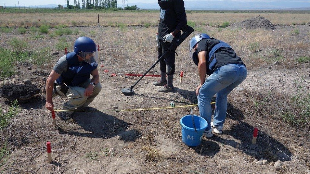 Eastern Border Mine Clearance for UNDP, Turkey