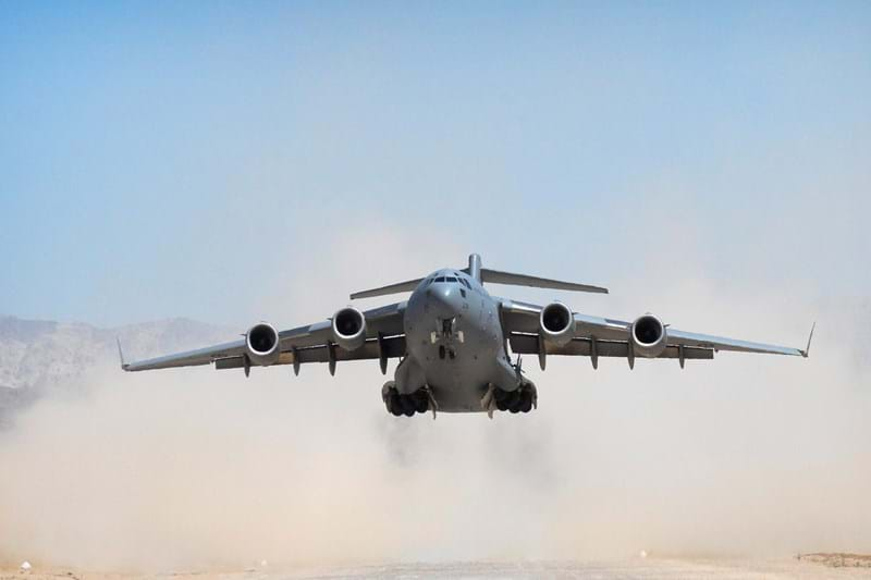 C-17A Globemaster taking off