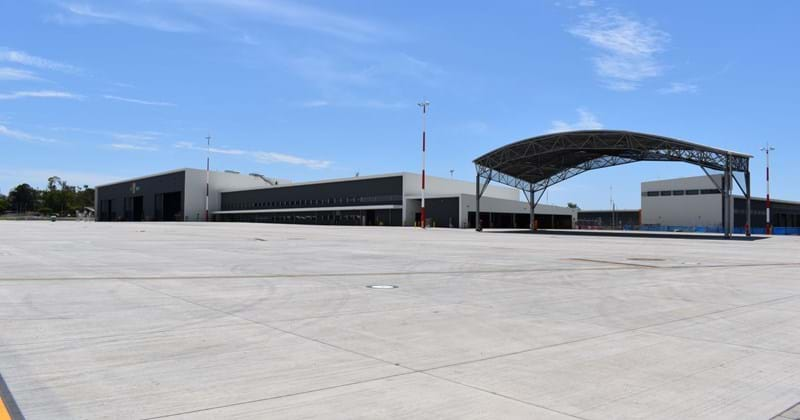 Royal Australian Air Force (RAAF) Base Amberley hanger