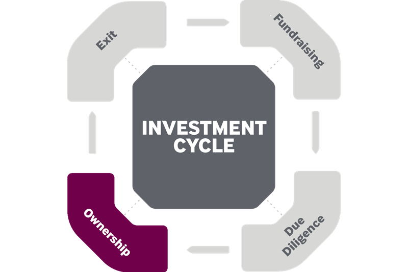 ESG factors during investment ownership